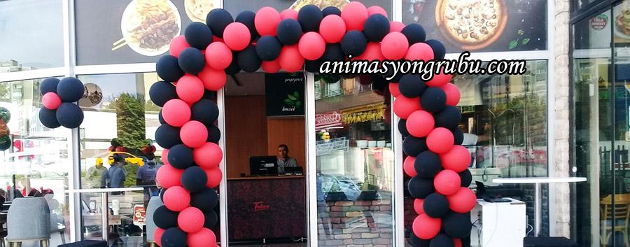 balon süsleme organizasyonu açılış