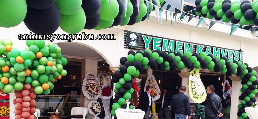 mağaza işyeri açılış balon süsleme