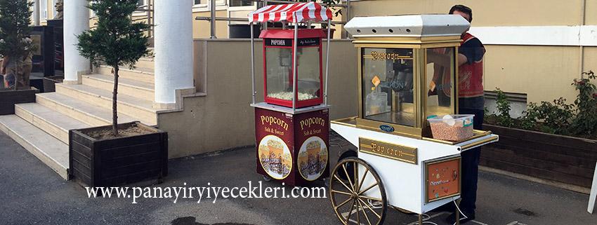 Patlamış Mısır Arabası Ve Popcorn Arabası