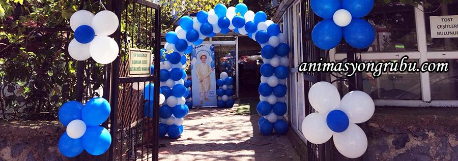 sünnet organizasyonu balon süsleme