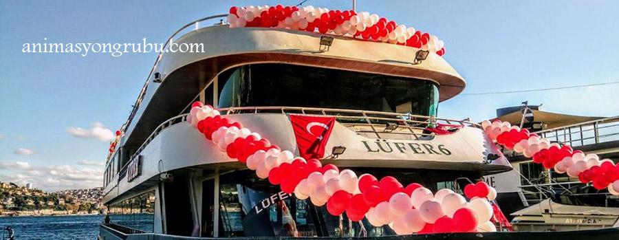 teknede süsleme organizasyonu