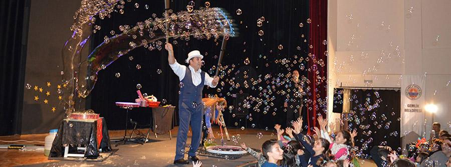 Bubble Show Gösterisi İstanbul