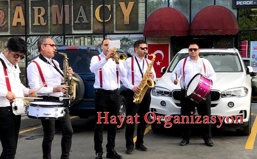 bando takımı açılış organizasyonu